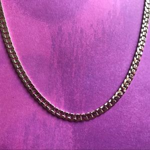 14k Gold 3mm Cuban Link Chain